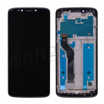 LCD Screen Display with Touch Digitizer Panel and Frame for Motorola Moto E5 Plus XT1924 - Black