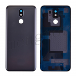 Back Cover with Camera Glass Lens and Adhesive Tape for LG K40 LMX420/ K12 Plus/ X4(2019) - Gray