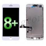 LCD Screen Display with Touch Digitizer Panel and Frame for iPhone 8 Plus (5.5 inches)(Incell) - White