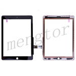 Touch Screen Digitizer for iPad 6(2018) A1893 A1954(High Quality) - Black