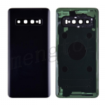 Back Cover Battery Door with Camera Glass Lens and Cover for Samsung Galaxy S10 G973 - Prism Black