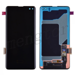 OLED Screen Display with Digitizer Touch Panel for Samsung Galaxy S10 Plus G975 - Black