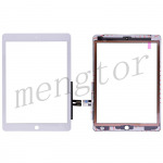 Touch Screen Digitizer for iPad 6(2018) A1893 A1954(High Quality) - White
