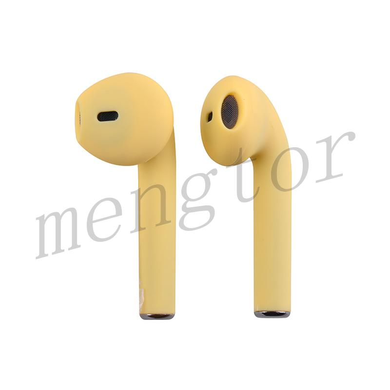 Macaron InPods 12 TWS Bluetooth 5.0 Wireless Earphone for Mobile Phone - Yellow