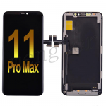 OLED Screen Display with Touch Digitizer Panel and Frame for iPhone 11 Pro Max(6.5 inches)(Super High Quality) - Black