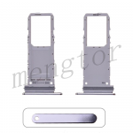 Sim Card Tray for Samsung Galaxy Note 10 N970(Single SIM Card Version) - Silver