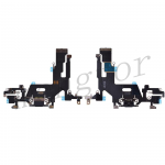 Charging Port with Flex Cable for iPhone 11(6.1 inches)(Super High Quality) - Black