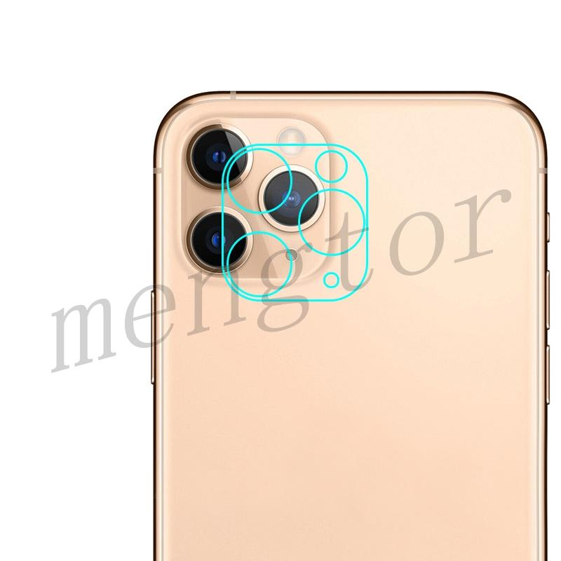 Full Curved Rear Camera Lens Tempered Glass Protector for iPhone 11 Pro/ 11 Pro Max(Retail Packaging)