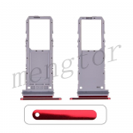 Sim Card Tray for Samsung Galaxy Note 10 N970(Single SIM Card Version) - Red