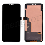 LCD Screen Display with Touch Digitizer Panel for LG V50 ThinQ LM-V500XM - Black