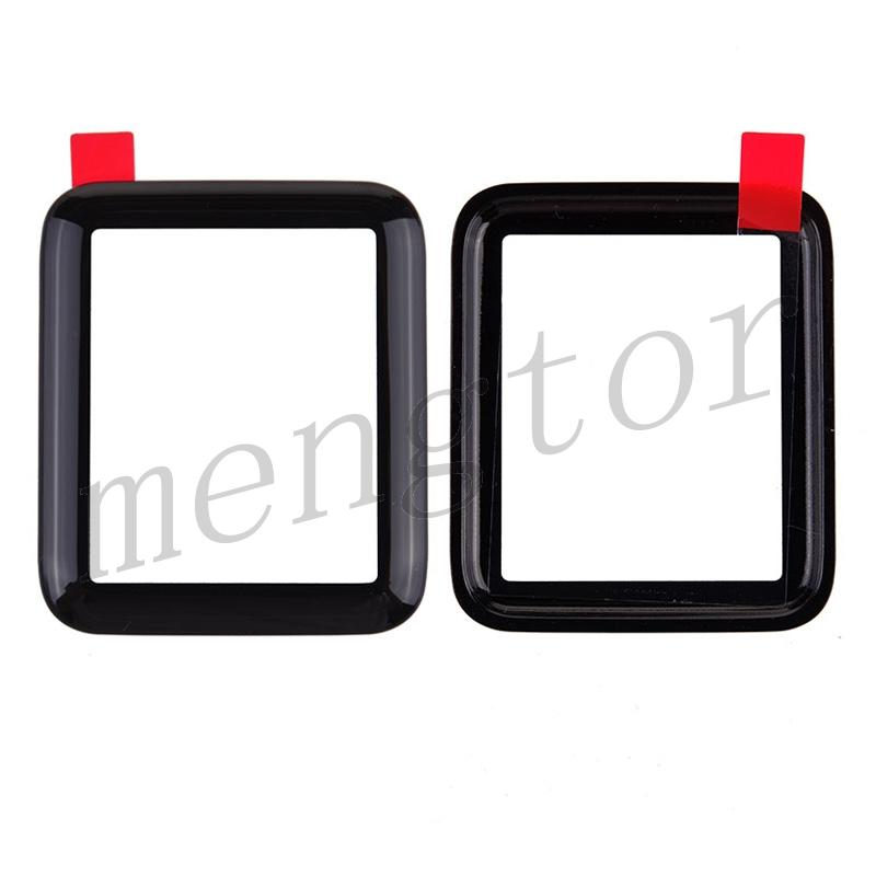 Front Screen Glass Lens for Apple Watch Series 2/ 3 38mm - Black