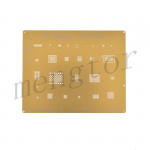 QianLi 3D IC Chip BGA Repair Reballing Gold Stencil Kit for iPhone 7/ 7 Plus