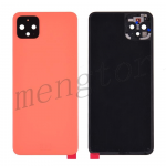 Back Cover Battery Door with Camera Glass Lens and Cover for Google Pixel 4 XL - Orange