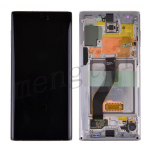 LCD Screen Display with Digitizer Touch Panel and Frame for Samsung Galaxy Note 10 N970 - Aura White