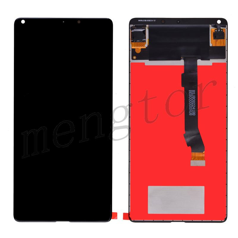 LCD Screen Display with Digitizer Touch Panel for Xiaomi Mi Mix 2 - Black