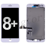 LCD Screen Display with Touch Digitizer Panel and Frame for iPhone 8 Plus (5.5 inches) ( High Quality) - White