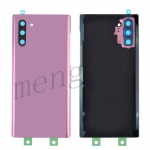Back Cover Battery Door with Camera Glass Lens and Cover for Samsung Galaxy Note 10 N970 - Pink