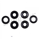 Rear Camera Glass Lens and Cover Bezel Ring for iPhone 11 Pro/ 11 Pro Max(3 Pcs/set) - Black