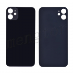 Back Glass Cover for iPhone 11(6.1 inches) - Black(Big Hole)