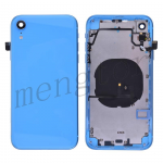 Back Housing with Small Parts Pre-installed for iPhone XR(6.1 inches)(High Quality) - Blue
