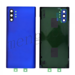 Back Cover Battery Door with Camera Glass Lens and Cover for Samsung Galaxy Note 10 Plus N975 - Blue