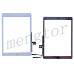 Touch Screen Digitizer With Home Button and Home Button Flex Cable for iPad 7(2019)/ iPad 8 (2020) (10.2 inches) (High Quality) - White