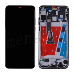 LCD Screen Display with Touch Digitizer Panel and Frame for Huawei P30 Lite(Black Frame) - Black