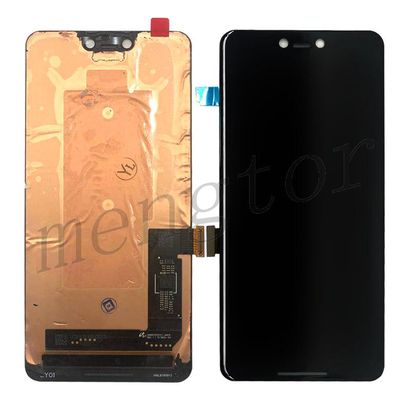 OLED Screen Display with Touch Digitizer Panel for Google Pixel 3 XL(Grade B)- Black