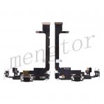 Charging Port with Flex Cable for iPhone 11 Pro Max(6.5 inches)(Super High Quality) - Black