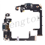 Charging Port with Flex Cable for iPhone 11 Pro (5.8 inches)(Super High Quality) - Green
