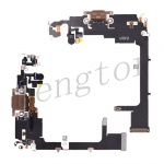Charging Port with Flex Cable for iPhone 11 Pro (5.8 inches)(Super High Quality) - Gold