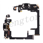 Charging Port with Flex Cable for iPhone 11 Pro (5.8 inches)(Super High Quality) - Black