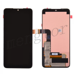 LCD Screen Display with Touch Digitizer Panel for LG G8X ThinQ LMG850U - Black
