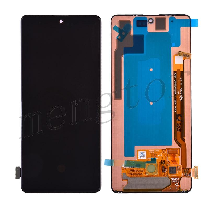 LCD Screen Display with Digitizer Touch Panel for Samsung Galaxy Note 10 Lite N770 - Black