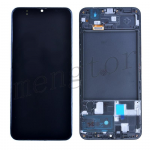 LCD Screen Display with Digitizer Touch Panel and Frame for Samsung Galaxy A20 2019 A205 - Black