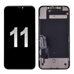 LCD Screen Display with Touch Digitizer Panel and Frame for iPhone 11(6.1 inches)(Generic) - Black