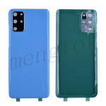Back Cover with Camera Glass Lens and Adhesive Tape for Samsung Galaxy S20 Plus G985/ S20 Plus 5G G986 - Cloud Blue