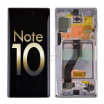 OLED Screen Display with Digitizer Touch Panel and Frame for Samsung Galaxy Note 10 N970(Service Pack) - Aura White