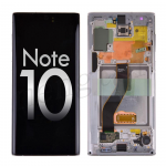 OLED Screen Display with Digitizer Touch Panel and Frame for Samsung Galaxy Note 10 N970 - Aura White