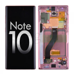 OLED Screen Display with Digitizer Touch Panel and Frame for Samsung Galaxy Note 10 N970 - Aura Pink