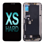 Hard OLED Screen Display with Touch Digitizer Panel and Frame for iPhone XS (HX) - Black