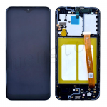 LCD Screen Digitizer Assembly With Frame for Samsung Galaxy A10e A102U (Incell) - Black