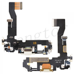 Charging Port with Flex Cable for iPhone 12 (6.1 inches) (Super High Quality) - White
