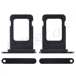 Sim Card Tray for iPhone 12 (6.1 inches) (Single SIM Card Version) - Black