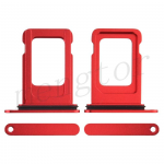 Sim Card Tray for iPhone 12 (6.1 inches) (Single SIM Card Version) - Red