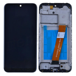 LCD Screen Digitizer Assembly with Frame for Samsung Galaxy A01(2019) A015(Wide FPC Connector) - Black
