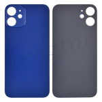 Back Glass Cover for iPhone 12(for iPhone) - Blue(Big Hole)
