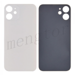 Back Glass Cover for iPhone 12(for iPhone) - White(Big Hole)