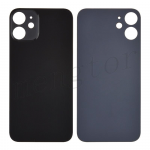 Back Glass Cover for iPhone 12(for iPhone) - Black(Big Hole)