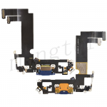 Charging Port with Flex Cable for iPhone 12 mini (5.4 inches) (Super High Quality) - Blue